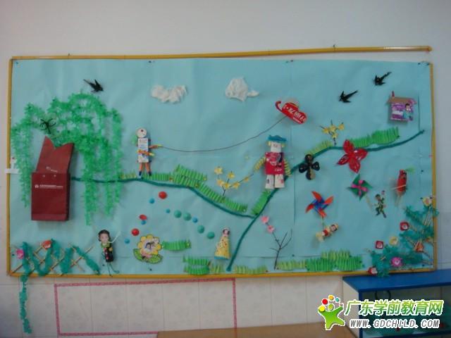 幼儿园主题墙边框_第3页_画画大全