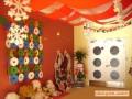 幼儿园室内环境布置:圣诞节布置 (8)