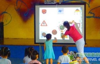 电子白板优化幼儿园教学活动,成为2016华南国际幼教展亮丽风景线